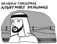 arabian christmas drawings1